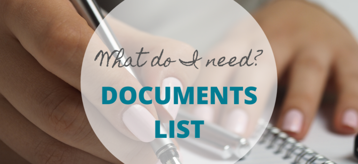What documentation will I need?